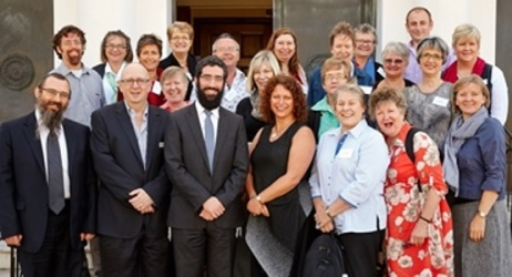 Hospital Pastoral Carers get immersed into Jewish Melbourne
