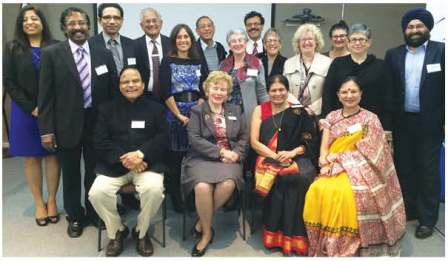 JCCV Hosts First Jewish – Indian Friendship Dinner