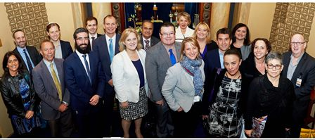 Parliamentarians Get Immersed In Jewish Melbourne