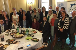 Passover Lunch with Politicians at Purim