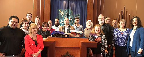Educating Spiritual Care Providers About the Jewish Community -  JCCV Jewish Immersion Day for Multifaith Spiritual Carers