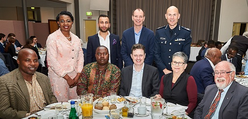 Developing Communities at Jewish – African 'Jeffersonian' Dinner